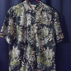 Columbia Button Down Hawaiian Shirt